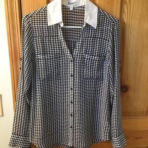 Express Portofino long sleeve blouse